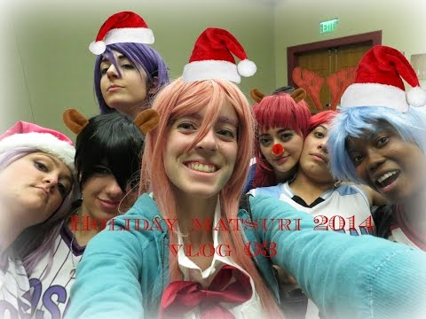 Holiday Matsuri 2014 Vlog 03 [Special Letter, Levi Sings, And Summary Of HM'14]