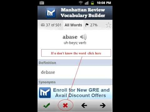 Video of Vocabulary Builder for GRE SAT