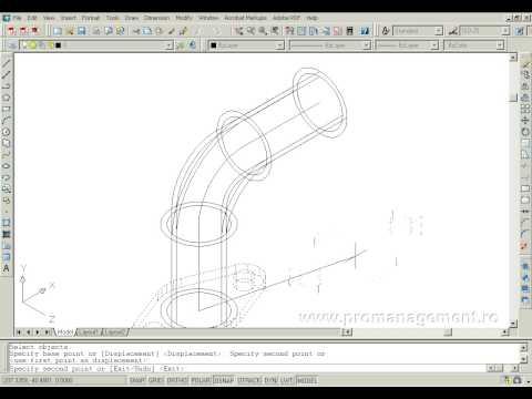 AutoCAD 3D video tutorial