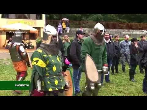 Рыцари в парке Победы 26 регион 2016