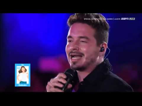 J Balvin - Ginza - Special Olympics Los Angeles 2015 (CC)