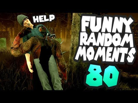 Funny clips - Dead by Daylight funny random moments montage 80