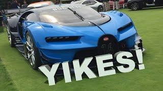Bugatti Vision Gran Turismo Struggles at Pebble Beach 😱😱😱 by DoctaM3's Supercars Personified