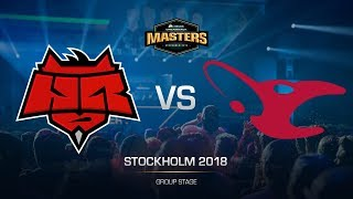 HellRaisers vs mousesports - DH MASTERS Stockholm - map2 - de_mirage [GodMint, SSW]