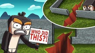 SINKHOLE + EARTHQUAKE + VOLCANO = EPIC! (Minecraft Disasters Mod)