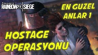 #7 En Güzel Anlar 1- Rainbow 6 Siege(Fails,İnhuman reactions,Best hostage rescue)