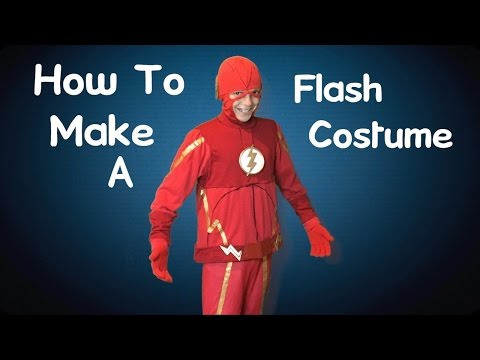Make Your Own Flash Costume! (DIY)