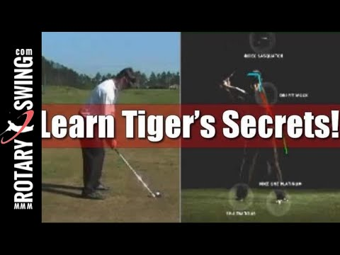 Tiger's Golf swing Analyzed