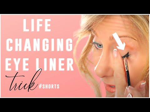 Best eyeliner trick for mature eyes! #shorts