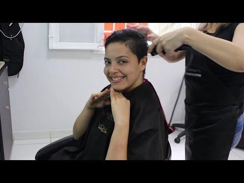 vlog | o dia que tive coragem de raspar o cabelo
