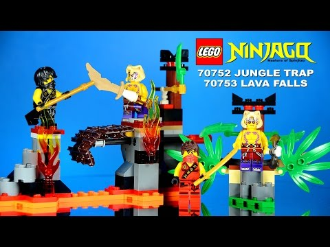 Vidéo LEGO Ninjago 70752 : Le piège dans la jungle
