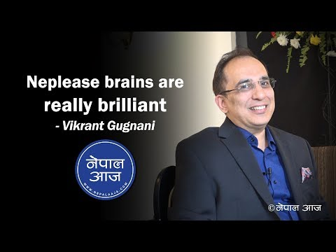 (Indian billionaire shares his experience about Entrepreneurship | Vikrant Gugnani | Nepal Aaja - Duration: 23 minutes.)