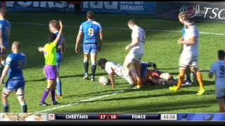 Cheetahs v Western Force Rd.15 2016 | Super Rugby Video Highlights