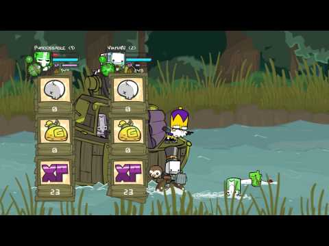 Castle Crashers [Co-op] #2 - Боссы!