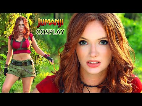 Jumanji - Ruby Roundhouse Makeup / Costume Cosplay Tutorial
