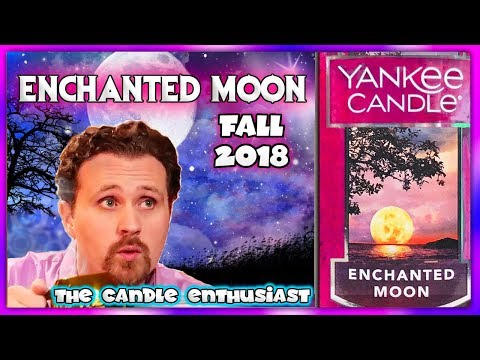 NEW - Yankee Candle - ENCHANTED MOON - Fall Autumn 2018 - SPOILER ALERT - Review / Evaluation