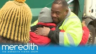 Man On a Mission To Help The Homeless | The Meredith Vieira Show