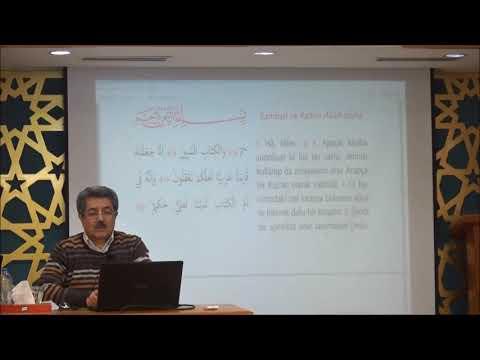 Tuncer Namlı - Zuhruf Suresi (1-35) Ayetlerin Tefsiri