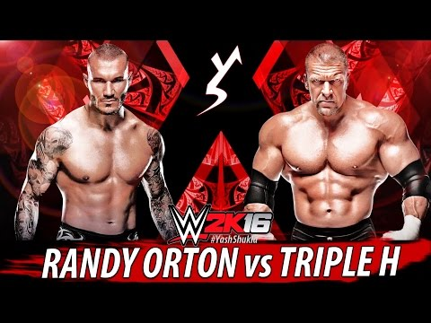 Video WWE 2K16 - Randy Orton vs Triple H Match Ft. OMG MOVES | PS4 Gameplay 1080p 60fps download in MP3, 3GP, MP4, WEBM, AVI, FLV January 2017