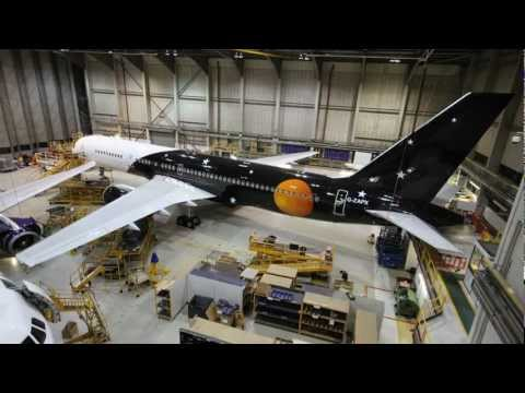 Titan Airways Boeing 757 – Maintenance by Monarch Aircraft Engineering