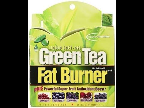 Applied Nutrition Green Tea Fat Burner -- 30 Liquid Soft-Gels