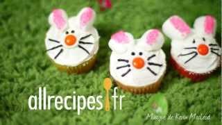 Comment déguiser des cupcakes en petits lapins ?