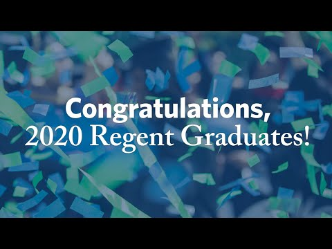 Congratulations 2020 Regent Graduates!