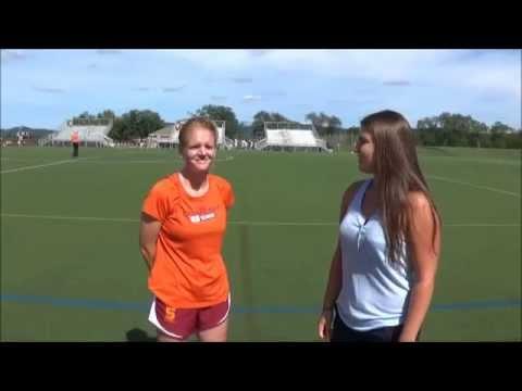 Field Hockey Postgame Interview (8/29 vs. Albright)