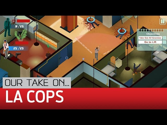 Видео к игре LA Cops