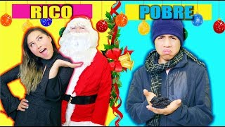 Video RICO VS POBRE en NAVIDAD !!! | Palomitas Flow MP3, 3GP, MP4, WEBM, AVI, FLV Januari 2018