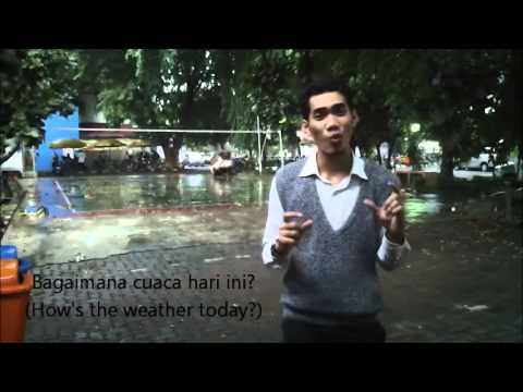 How To Talk About Weather In Indonesian - Learn Real Bahasa Indonesia #7