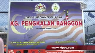 Kertih Malaysia  city photo : Perasmian Gelanggang Futsal 1 Malaysia Kg Pengkalan Ranggon Oleh Shabery Cheek 26/4/2013