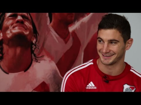 Lucas Alario, en exclusiva
