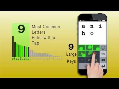 Video of MessagEase Keyboard