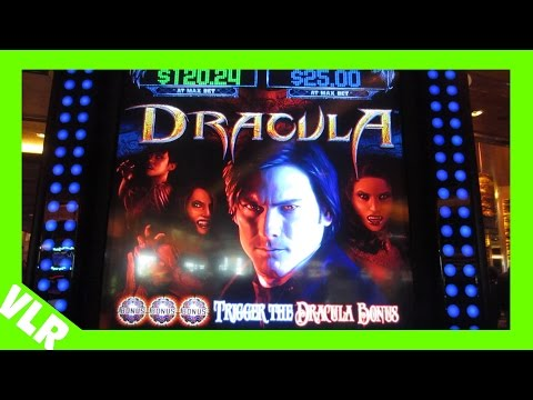 NEW DRACULA SLOT MACHINE – MAX BET BONUS DOUBLE FEATURE