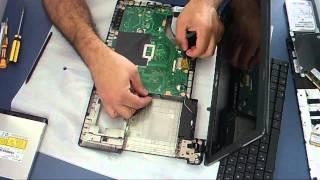 Desmontando Notebook Asus X55U