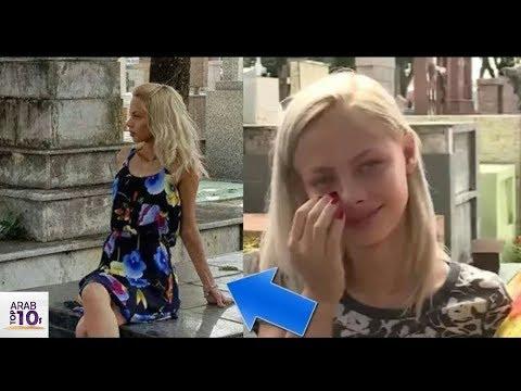 العرب اليوم - التقطت صورة للفتاة في المقبرة وعندما رأتها أختها كانت الصدمة