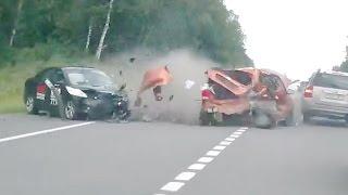 Жесткие аварии Август 1я неделя