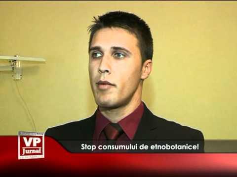 Stop consumului de etnobotanice!
