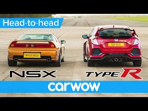 Honda Civic Type R vs NSX