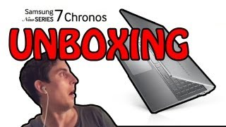 Windows 8 Unboxing Samsung Chronos SERIES 7 - BEST NOTEBOOK EVER!