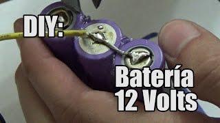 Video Cómo fabricar una batería de 12 Volts [2050mAh] (PARTE 1) MP3, 3GP, MP4, WEBM, AVI, FLV September 2019