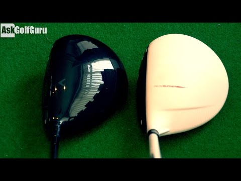 Callaway Mini 1.5 TaylorMade Burner Mini Driver