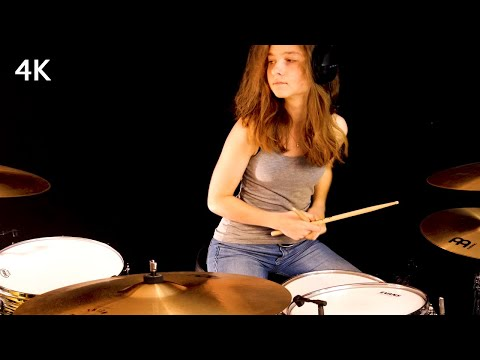 Don't Stop Believin' (Journey); drum cover by Sina