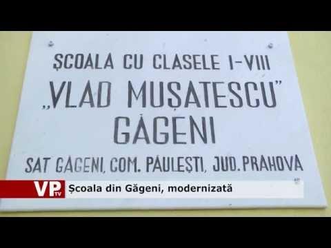Școala din Găgeni, modernizată