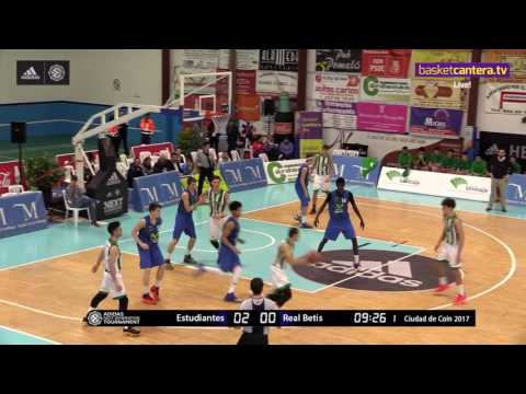 ANGT Coin: U18 Movistar Estudiantes Madrid vs. U18 Real Betis Energia Plus Seville - Full Game