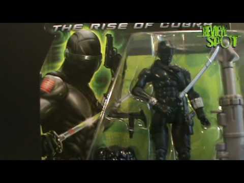 Toy Spot - Hasbro G.I.JOE: Rise of Cobra Snake Eyes figure