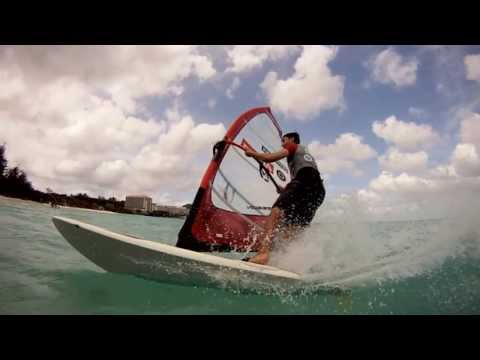 Windsurfing in Guam