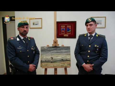 Due quadri di Van Gogh finiscono nella casa dei camorristi VIDEO