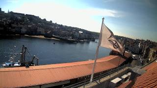 Whitby Fri 12th Jun 2015 24-Hour Time-lapse (Upriver)